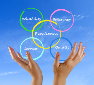 Reliability   Efficiency   Excellence   Service   Quality